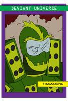 Titamazona Card by MadMonkeyDane