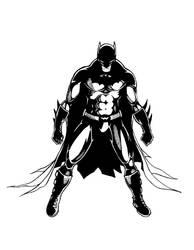 Batman inks by dennissweatt