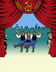 Iron Curtain the musical by dennissweatt