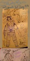 SDB's Bioshock Art Dump 08-10 by BriefLeaf