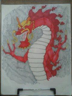 Red Fire Dragon 1472749914938 by LordFirekaze