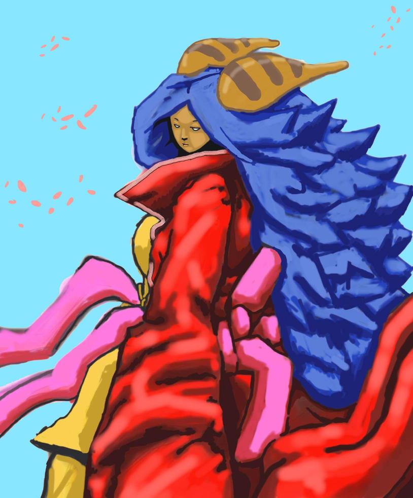Kami Concept-goddess Priestess Color Block 1z - Pe by LordFirekaze