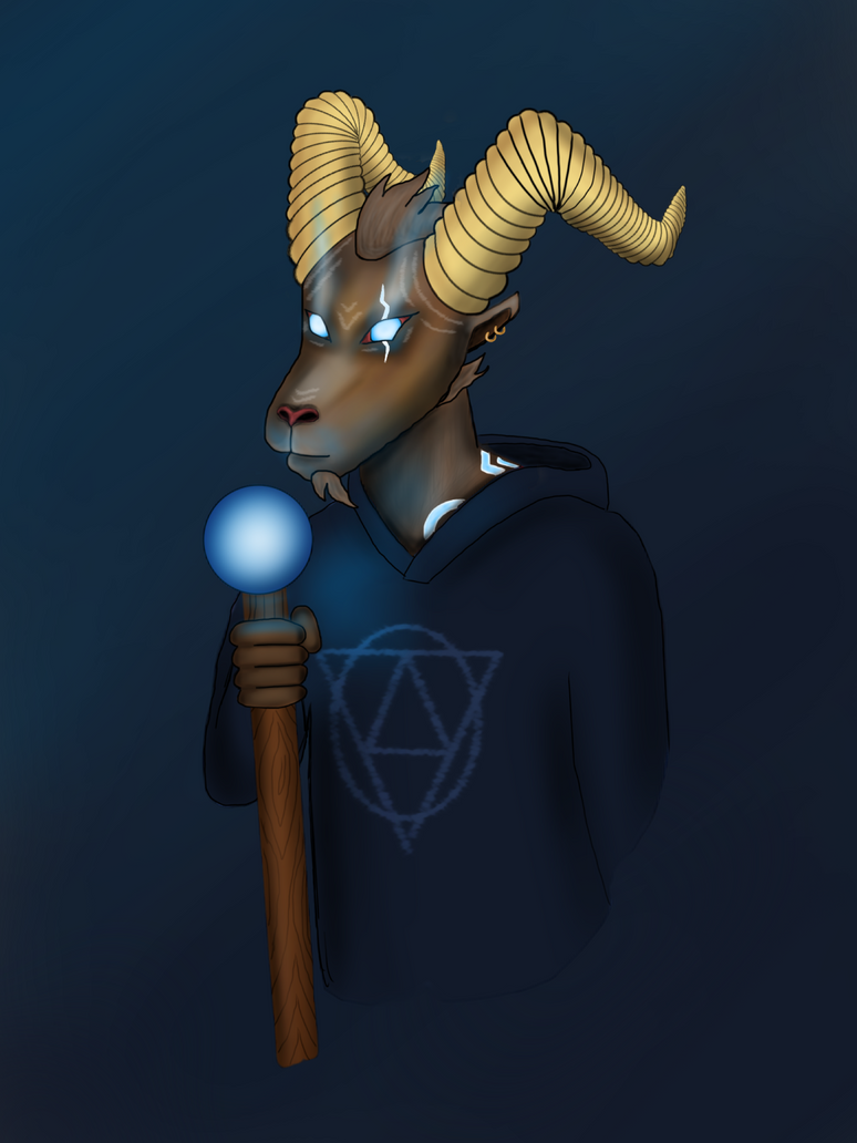 Goat Wizard by ItsGehrke