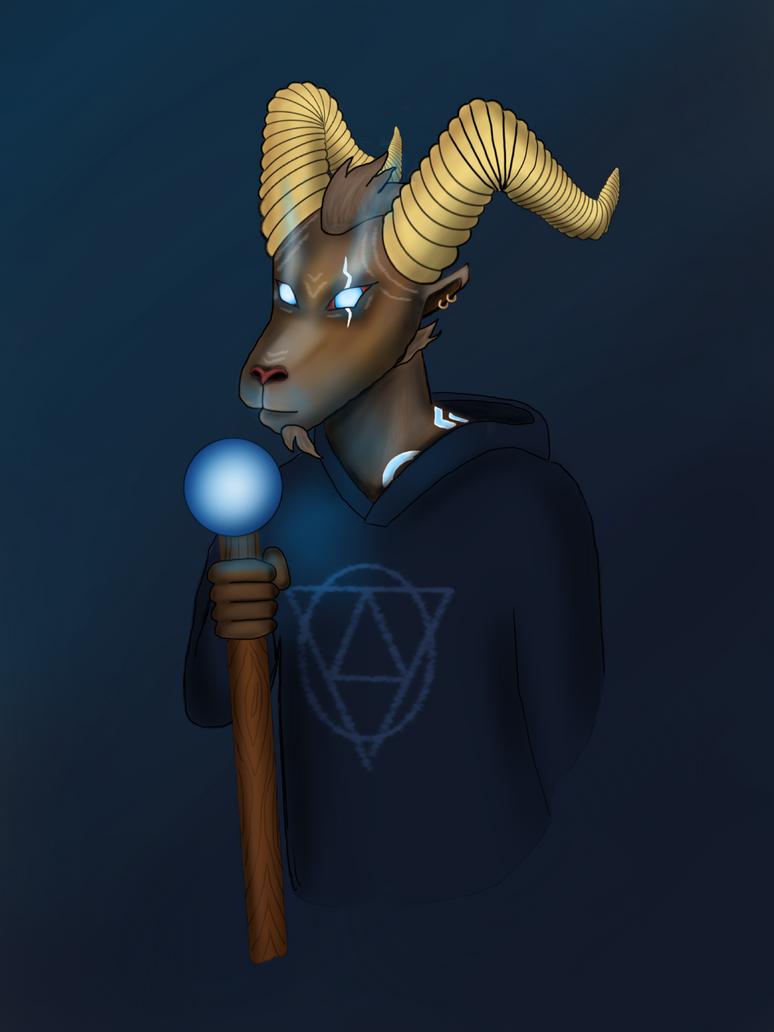 Goat Wizard by ItsGehrke