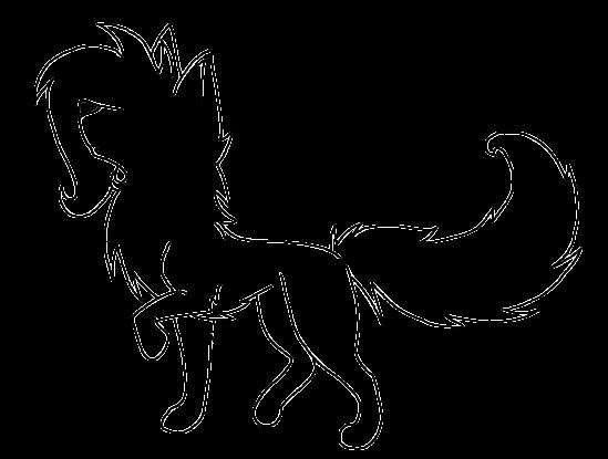 Female Anime Wolf Base Free By Magickittyaj On Deviantart