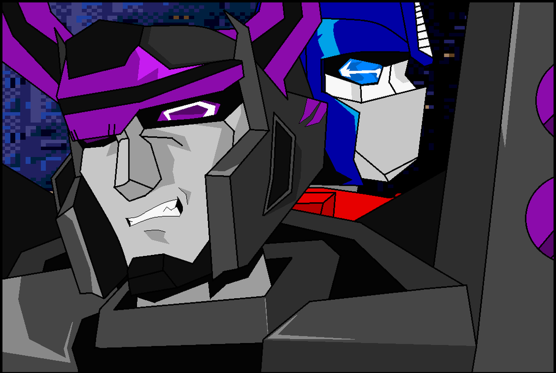 War For Energon - Delgatron and Prime by DELGATRON