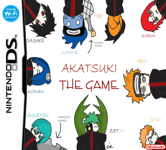 Akatsuki the game by AnimatorPerson