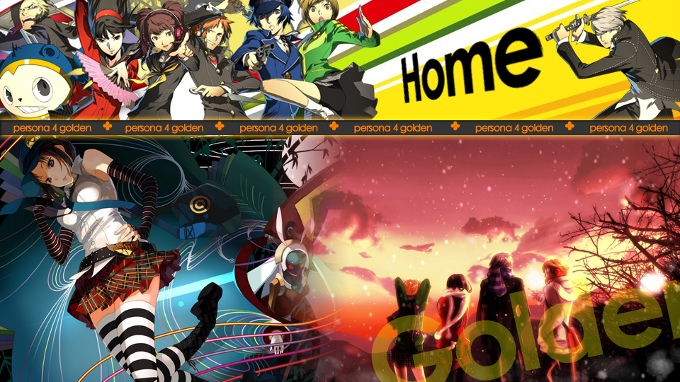 Persona 4 (Home Screen) By