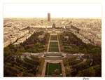 View from Eiffel tower II