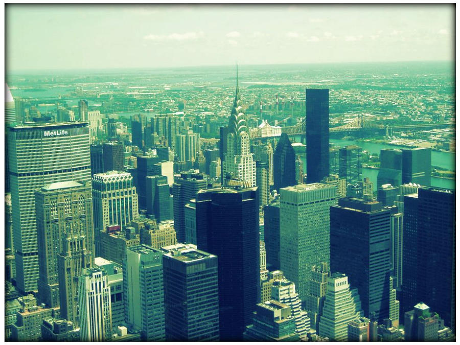 Manhattan view by SeiMissTake