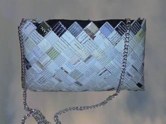 Handmade bag for book lovers
