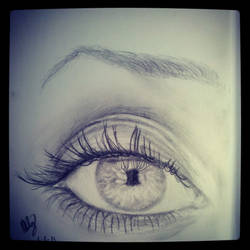 Eye Drawing by mauriceleroi