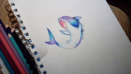 Galaxy Shark! by PianoGirl110