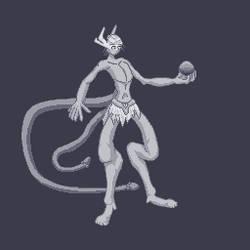 Male Scintillian Pixel