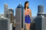 Giant Katy Perry