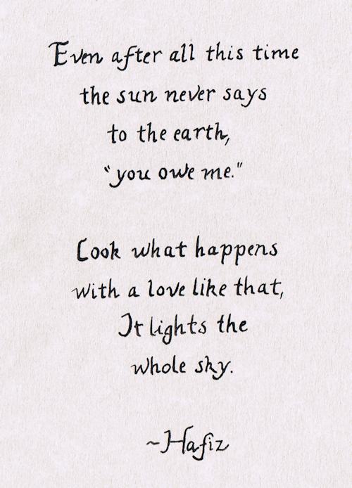 hafiz poem - photo #5