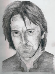 Alan Rickman by HJSnapePM