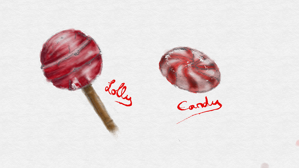 FreshPaint: Lolly and Candy by LuneDeLaNeige