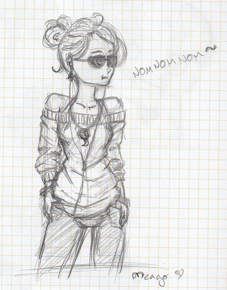 summer girl by meago by LuneDeLaNeige