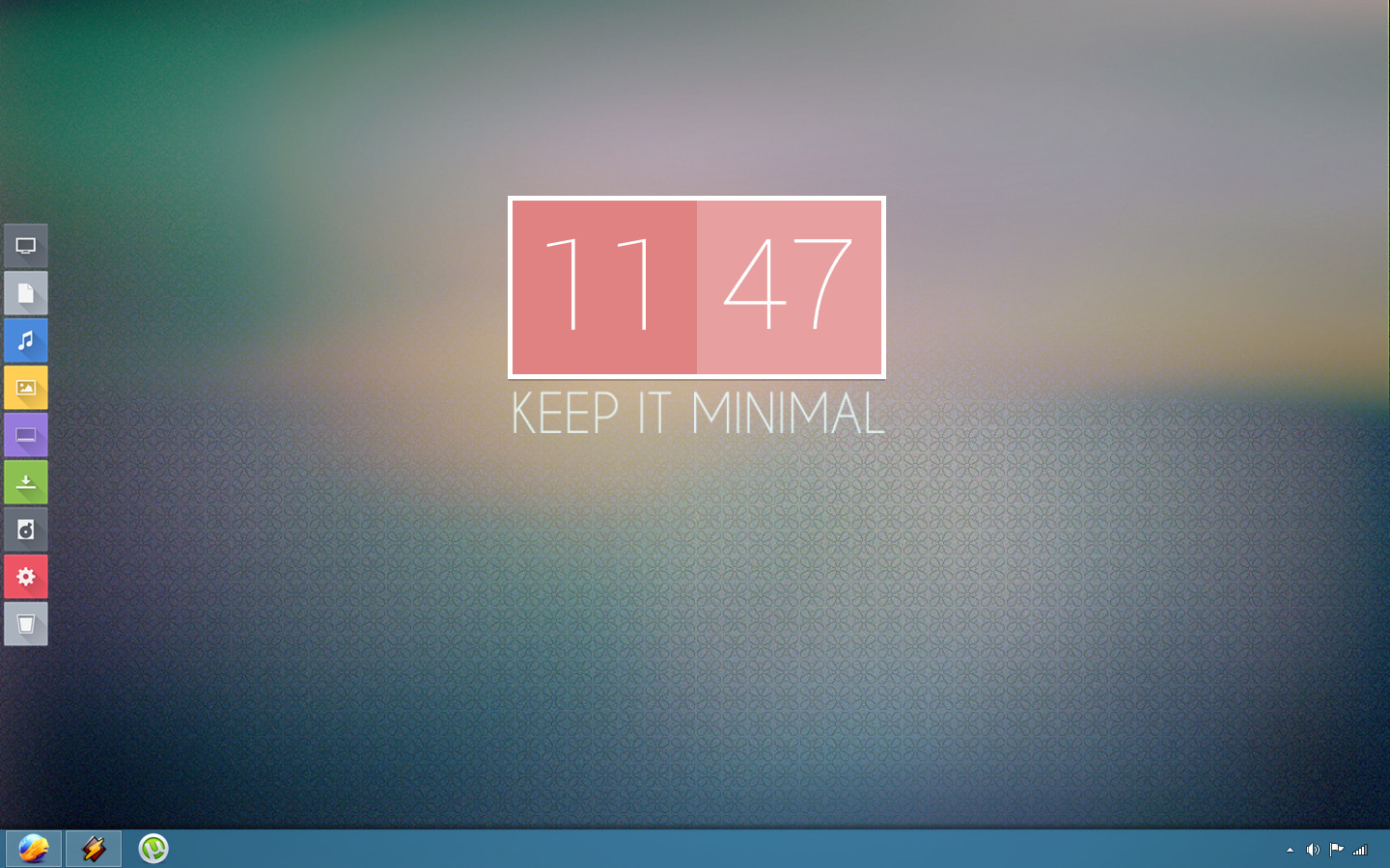 Minimal flat by luksy78 on deviantart for Art minimal facebook