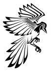 Tribal Tattoo: Magpie