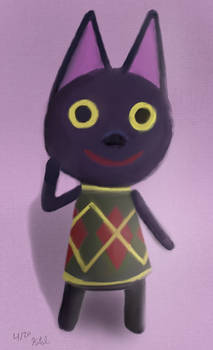 Kiki from Animal Crossing