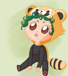 [C] Red Panda Kigurumi!