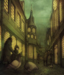 The city of pigeons by kinixuki