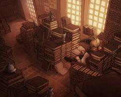 Bookshop by kinixuki