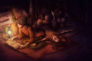 Good Night by kinixuki