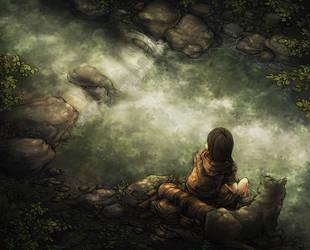 Reflection by kinixuki