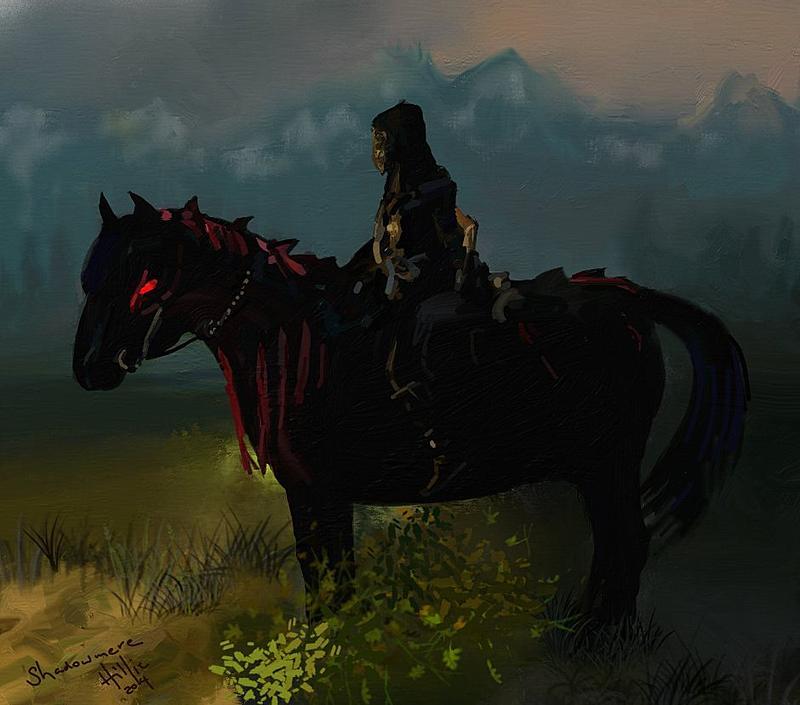 Shadowmere from Skyrim by psycopix