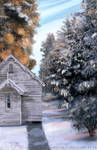 JOINT WINNER! ArtRage November 2014 Comp: Snow by psycopix