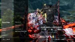 daedric armour, at last!! by psycopix