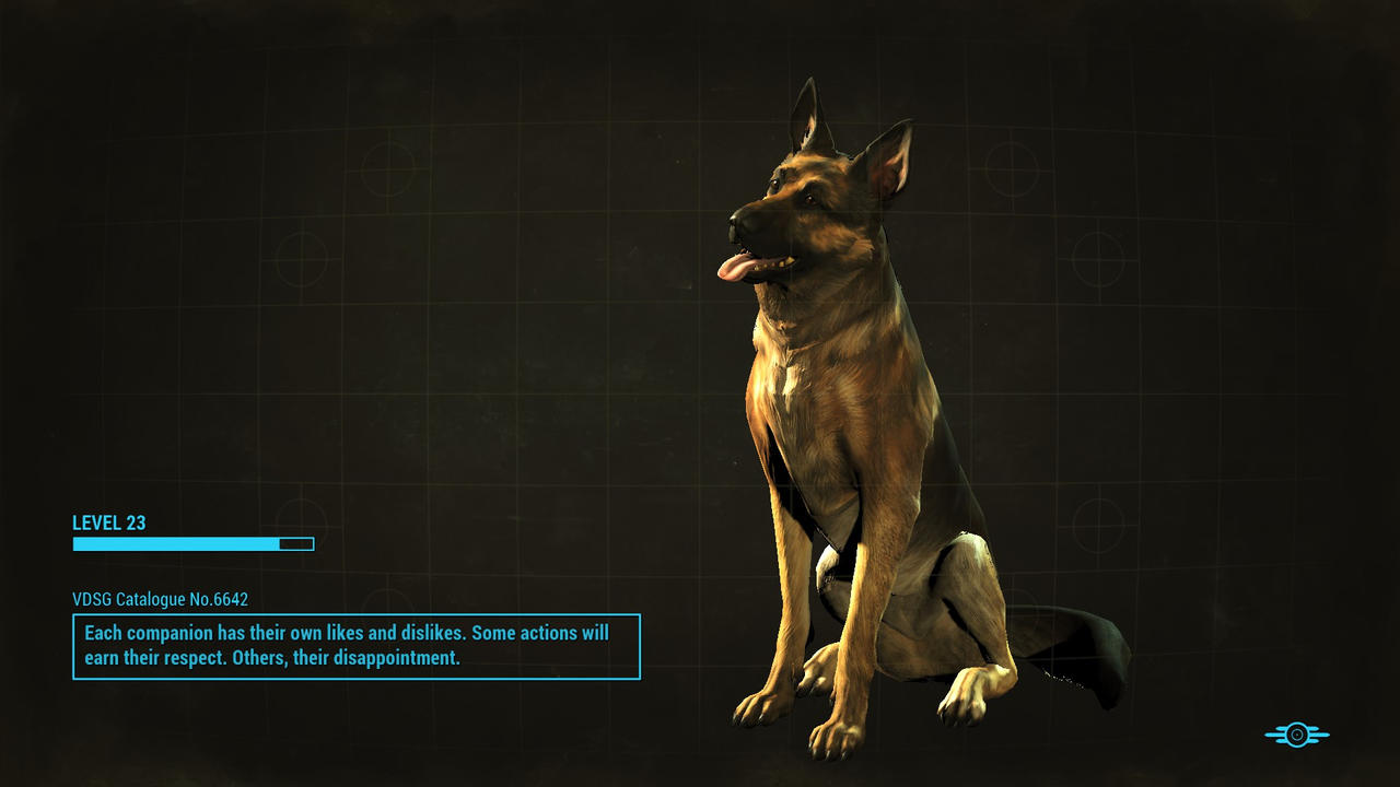 Fallout 4: Dogmeat by psycopix