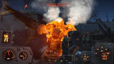 Fallout 4: Sentry Bot