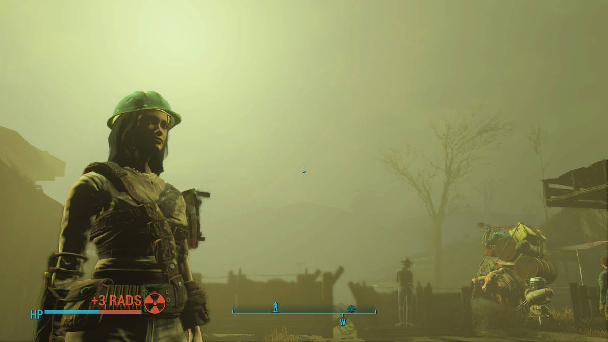 Fallout 4: Nuclear Storm at Sanctuary by psycopix