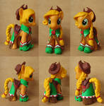 Applejack in Gala Dress Custom