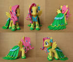 Fluttershy in Gala Dress Custom