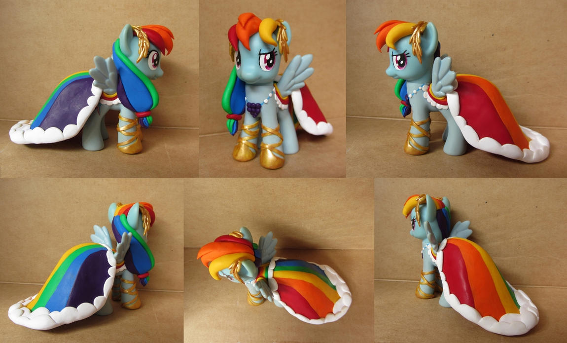 Rainbow Dash in Gala Dress Custom by atelok