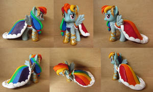 Rainbow Dash in Gala Dress Custom