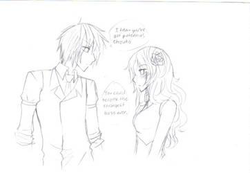 Klaus and Shizuka by Krog-Lance