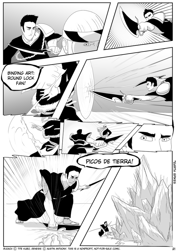 Bleach: Genesis Pg 21 by Awesometacious