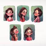 mini Girl Portraits