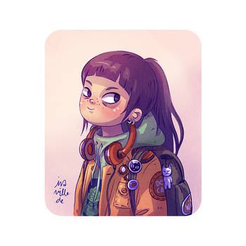 Girl by Iraville