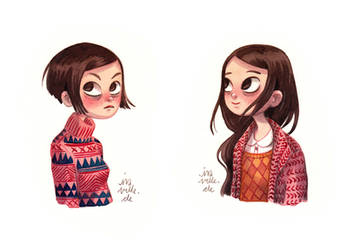 Girl Portraits by Iraville