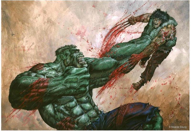 Wolverine Vs Hulk Wallpaper