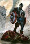 00 Captain America vs Iron Man