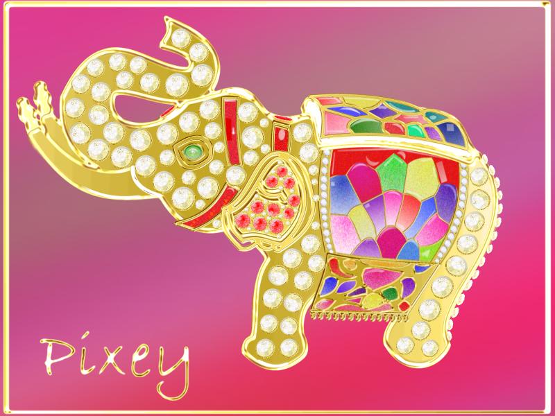 Thai Elephant Thai Elephant by Nanettealsop