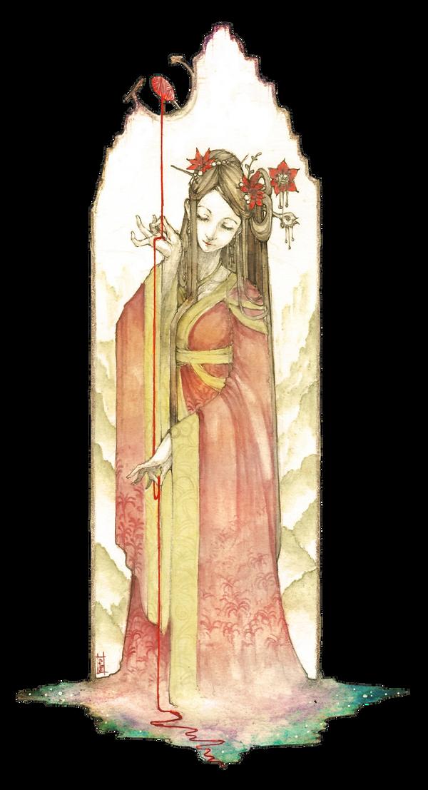 Scarlet Lily by Amdhuscias